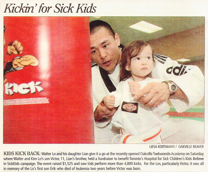 Kicking for Sick Kids Feb 21st 2007